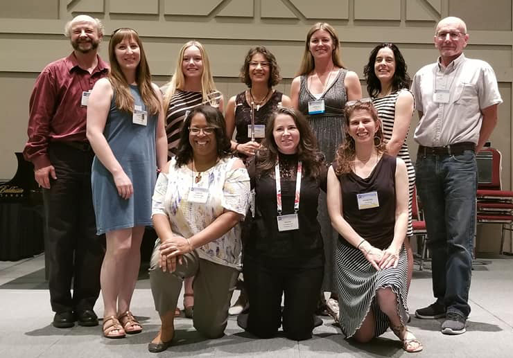 Participants of the 2019 NFA Covention Flute Speakeasy